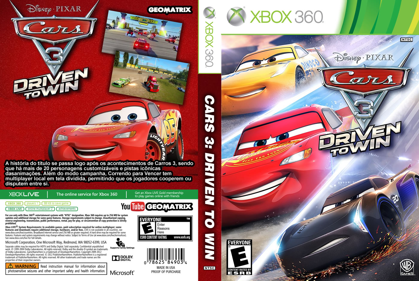 Cars 3 Driven To Win Xbox 360 Mike Francis Net